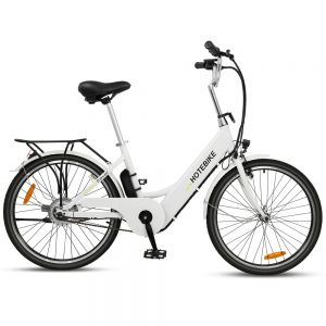 White color 24 inch city electric assisted bicycle for sale