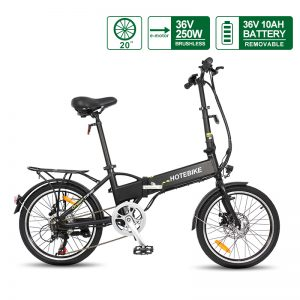 30% off – 20 inch folding electric bike 36v battery (A1-7)