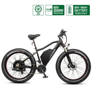 60V 2000W fat tire electric chopper bike (A7AT26-60V2000W)