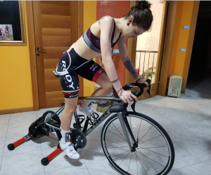 """Electric bicycle beauty Mary has a dream of """"participating in the Olympics"""" from GHOST team"""