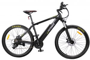 New high-power electric mountain bike preheating