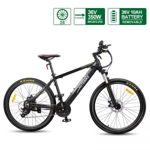 36V 350W 26 inch Assist Best Adult Electric Bicycles Hidden Battery (A6AH26-36V350W)