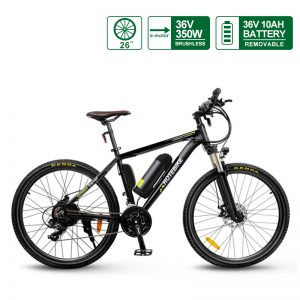 The Best Hybrid Electric Mountain Bikes (A6AB26-36V350W)