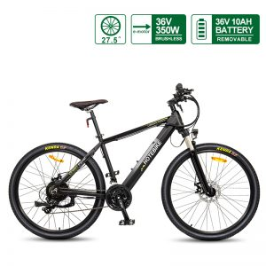 27.5 inch Best Electric Mountain Bikes 36V 350W Hidden Battery (A6AH26-36V350W)(27.5″)