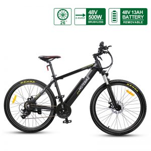 "48V 500W High-power E-bike 26"" Electric Bicycles Hidden Battery (A6AH26-48V500W)"