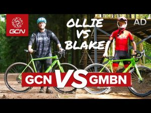Can A Gravel Bike Keep Up Off Road? | GCN Vs GMBN