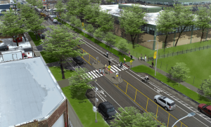 West side stretch of Chicago Avenue could get road diet, bus and bike lanes – Streetsblog Chicago