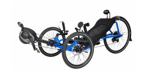 eCat electric recumbent tricycle is a seriously laid back new e-bike