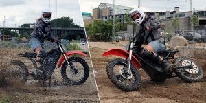 Dustoff electric motorcycle set to become a low cost, modular platform