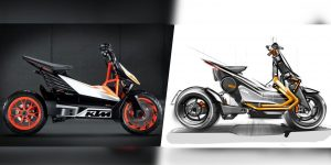 KTM is working on a new electric motorbike that could bridge the scooter/motorcycle gap