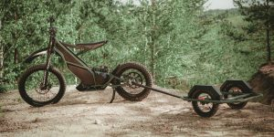 Kuberg Ranger announced as 50 MPH electric dirtbike/scooter hybrid