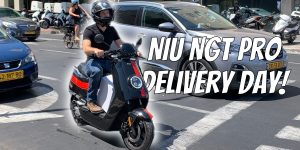 Delivery day (and first impressions) of the 45 MPH NIU NGT Pro e-scooter