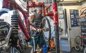 Getting There: Break-in won't slow Shacktown's mission to use bikes to create positive change