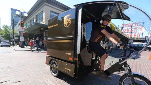 Evanston considers electric package delivery bikes