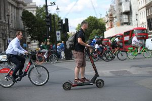 Popularity of electric scooters 'threatens to eat bike share's lunch'