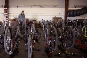 Riverside Education Center sees influx of bike donations after trailer stolen   Western Colorado