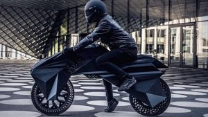3D-Printed Electric Motorcycle Looks Out of Blade Runner