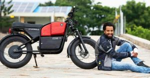 No Driver's License to Ride This Electric Bike That Goes 100 KM on One Charge