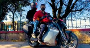 Ultraviolette F77 – India's First Performance Electric Motorcycle; Goes For Its First Test Run in 2021
