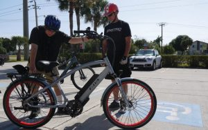 Not in riding shape? Try an electric bike!
