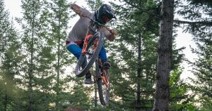 Lakeside bike park caters to downhill mountain bikers