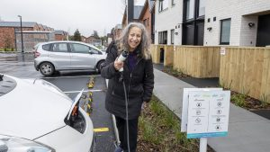 Social housing complex residents to get shared electric bikes and cars