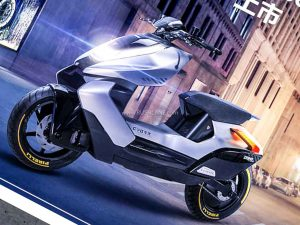CFMoto Electric Scooter Spied In Production Guise
