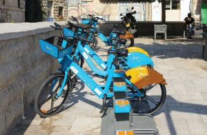 Are Jerusalem residents going to take to city's new cycling stations?