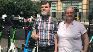 Blind campaigners demand TfL stop the e-scooter trials making them afraid to leave their homes – South London News