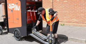 Ford-backed e-scooter business trialing local e-cargo-bike battery deliveries
