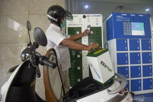 Fuel-driven motorcycle into electric model conversion program launched