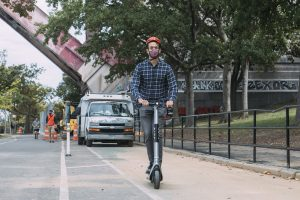 E-scooters, First in the City, Head to the East Bronx—to Mixed Reactions
