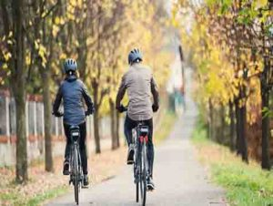 Is riding an electric bike easy for you